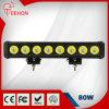 Rangée simple outre du guide optique 80W du CREE LED de route