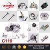 110cc de Motor Assy van de motorfiets voor C110 de Delen van de Motorfiets 152fmh