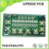 PWB de múltiples capas con la fabricación de cobre de la tarjeta de circuitos 1oz de Fr4 1.6m m