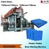 Пластичное оборудование прессформы дуновения паллетов