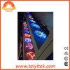 Vidrio manchado colorido Windows de Tiffany y luz de la bola del plasma de los paneles