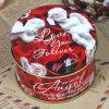 Caja de regalo caliente del metal de la vela de la venta para la boda o el cumpleaños