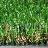 Natural Paisaje verde hierba artificial del césped para el jardín