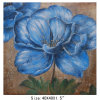 Sitio Decoration Blue Flower Paintings en Canvas para Sale (LH-700622)