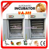 CE Approved Industrial Automatic Poultry Incubator pour Chickens