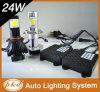 Farol interno do diodo emissor de luz do carro H4 do ventilador do projeto novo