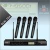 専門家UHF Dpllの無線マイクロフォンシステム