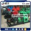 Prix rotatoire hydraulique de machine de plate-forme de forage de l'eau Xy-200 à vendre