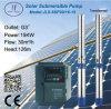 6SP30-16 centrífuga sumergible de acero inoxidable bomba solar