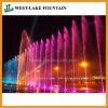 Laufender Sprung-Brunnen mit Musik, LED-Beleuchtung, Laser