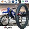 Câmara de ar interna da motocicleta da roda do cantão três (4.10-18)