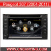 GPS, Bluetooth를 가진 Peugeot 307 (2004-2011년)를 위한 특별한 Car DVD Player. A8 Chipset Dual Core 1080P V-20 Disc WiFi 3G 인터넷 (CY-C017로)