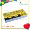 Conteneur en plastique de cadre de pillule de 14 compartiments (pH1209)