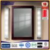 アルミニウムはガラス窓のアルミニウム曇らされたガラス窓を覆った
