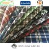Polyester-klassisches Check-Futter 100% für Tuch