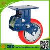 Hochleistungspolyurethan-Rad-Schlag-Absorptions-Fußrolle der laufkatze-5