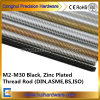 Classe 4.8 8.8 Rod rosqueado cheio M4-M30 do aço de carbono