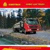 Registro de Sinotruk HOWO 371HP/carro de la madera para el transporte de madera