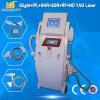 Systèmes à commutation de Q d'IPL&Laser d'épilation d'ablation de noevus de ND YAG de laser