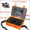Farbe Unterwasser-HD CCD-Kamera 7  LCD-Schirm mit DVR /CCTV Kamera/Underwater Kontrollsystem mit dem 50m Kabel