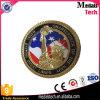 Monedas suaves de encargo baratas del desafío de los E.E.U.U. del metal del esmalte