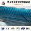 Hoja caliente del plástico de Sun de la depresión del policarbonato del panal de la venta