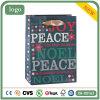 Мешки зеленого подарка искусствоа праздника удачливейшего Coated бумажные