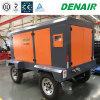 Compresor de aire accionado por el motor diesel de 200 Cfm para el rock duro