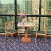 High-end хорошего качества твердых деревянной мебелью из дерева кожаный стул,