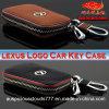 Nueva caja dominante del cuero genuino de la insignia del coche de Lexus de la manera 2017