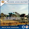 Planta de tratamiento aluvial del oro del alto rendimiento para la venta