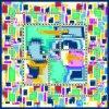 100% 실크 스카프 (F13-DP-0008)를 인쇄하는 주문 디지털