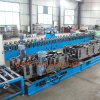 Rolo de aço galvanizado automático do tanque da escada do cabo que dá forma ao fornecedor da fábrica de máquina