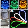 12V, 24V, 110V y 220V luz de neón plana de la cuerda del cuadrado LED