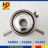 Refrigerador de petróleo del radiador del motor diesel de V2203 V2403 V2003 para los kits del motor de Kubota