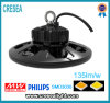 Indicatore luminoso industriale 100W 150W 200W LED Highbay del UFO con 130lm/W