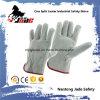 Серая перчатка работы водителя техники безопасности на производстве Split кожи Cowhide