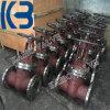 Запорная заслонка нержавеющей стали бросания Pn40 Dn150 GOST/API/DIN