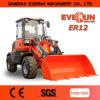 Machines van het Landbouwbedrijf van Ce van Everun de Gediplomeerde Er12 Compacte Hoflader