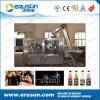 Machine de remplissage de boisson de boissons de gaz de bidon en aluminium
