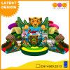 Kindergarten-aufblasbare Tierspielzeug-aufblasbare Tiger-Prahler-Kind-im Freien aufblasbarer Spielplatz kombiniert (AQ01765)