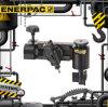 機械管のフランジの表面工作機械