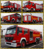 Serbatoio di acqua Foam Fire Rescue Truck di Isuzu da vendere