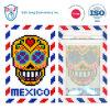 모자이크 스티치 수화물 꼬리표 ID 카드 홀더 멕시코