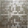 Teja de plata del acero inoxidable y mosaico de la pared (SM233)