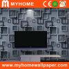 3D Behang van de Slaapkamer van pvc van het Bouwmateriaal