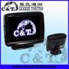 le tableau de bord de secours de Rearview de la voiture 3.5 renversant l'affichage d'écran de moniteur d'affichage à cristaux liquides, appareil-photo de Rearview de voiture et garant la sonde est facultatif (RVM350B)