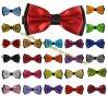 De façon classique 2Satin ply Mens le filtre Bow Tie 25 Colors Collection