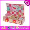 아름다운 Kids Kitchen Set Toy, Children, Baby W10c088를 위한 Lovely Wooden Toy Kitchen Play Set를 위한 Cute Wooden Kitchen Sets Toy