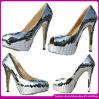 2014 o Latest Version de Sequins High Heel Shoes